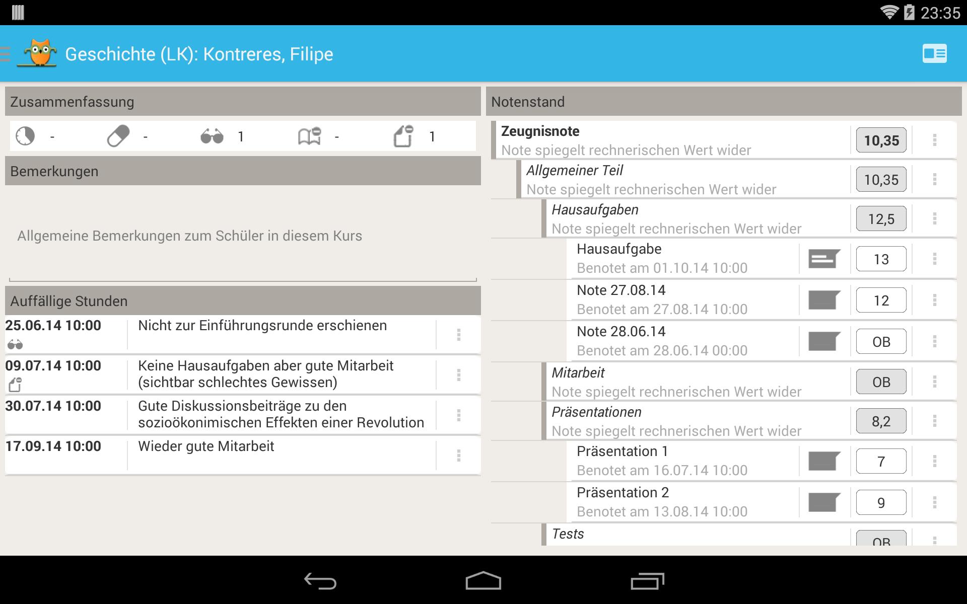 TeacherStudio-Handbuch-Android-Tablet-Schüler-Übersicht
