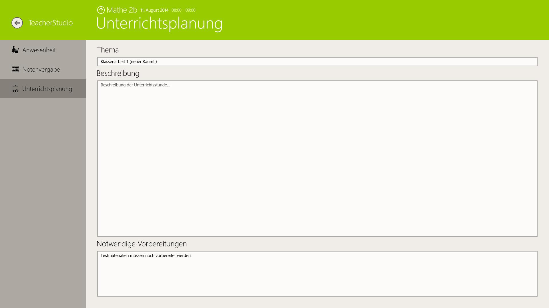 TeacherStudio-Handbuch-Windows-Unterrichtsstunde-Unterrichtsplanung