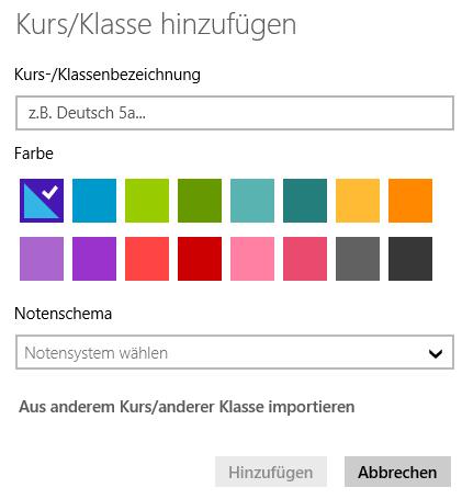 TeacherStudio-Windows-Neue-Kursfarben