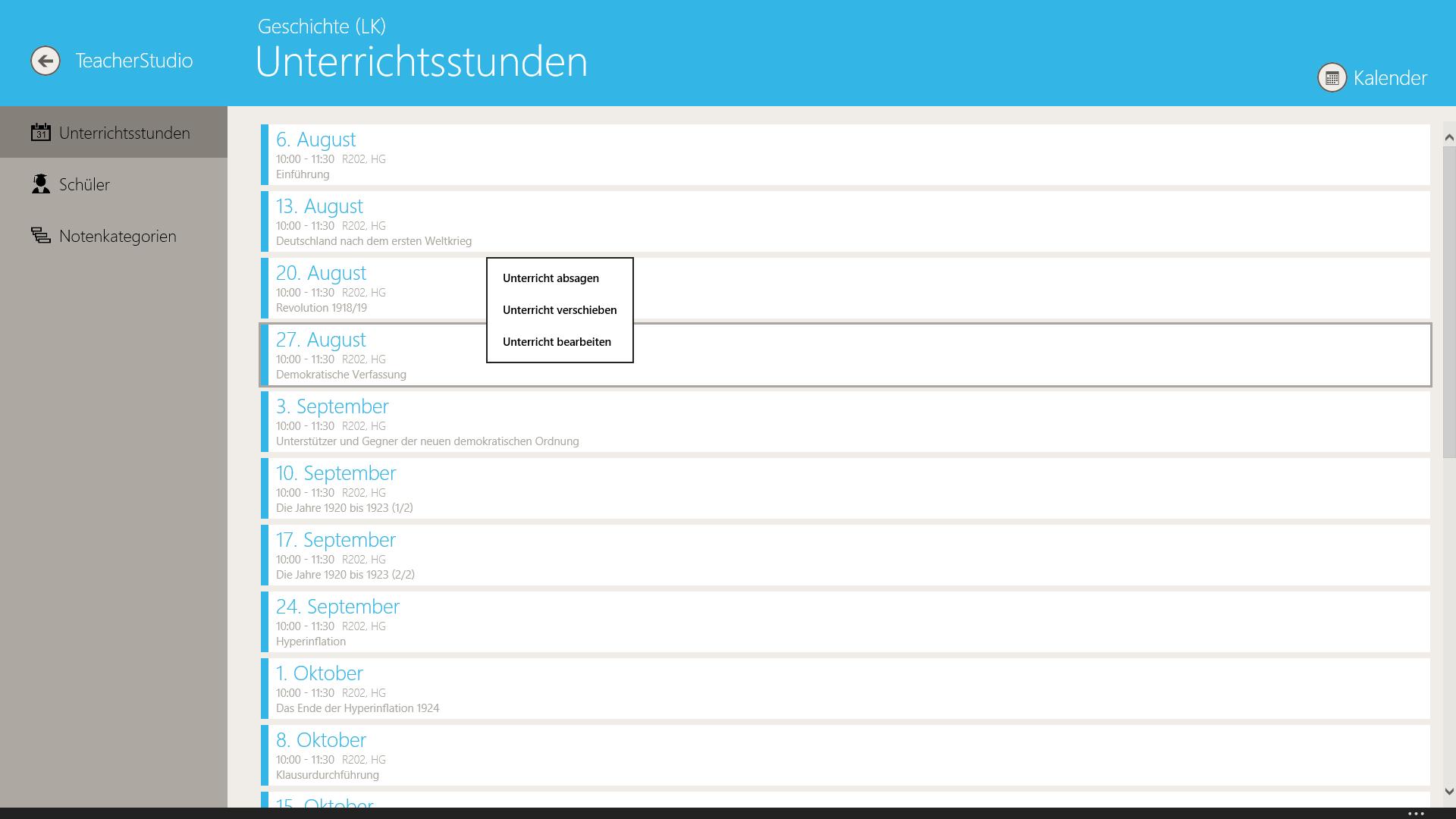 TeacherStudio-Windows-Unterrichtsstunden-bearbeiten