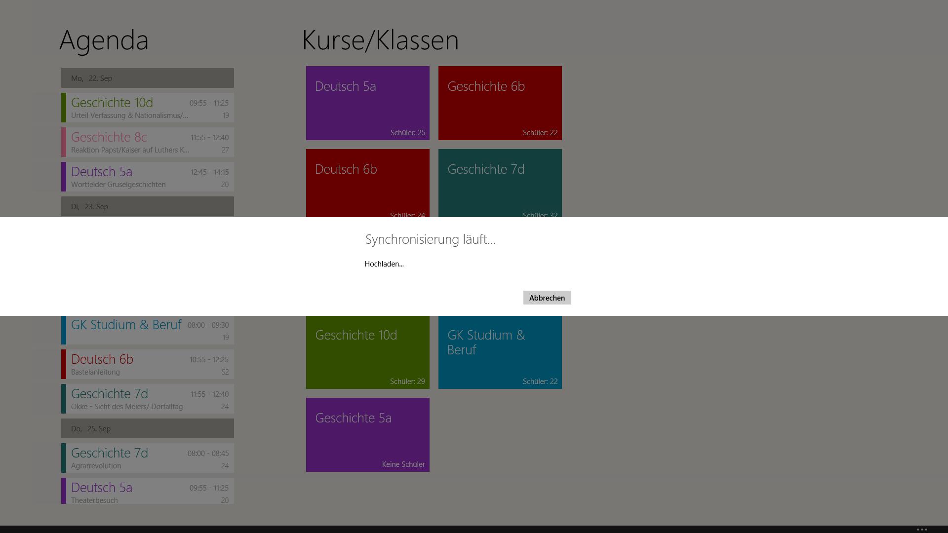 TecherStudio-Windows-Handbuch-Synchronisierung-wird-durchgeführt