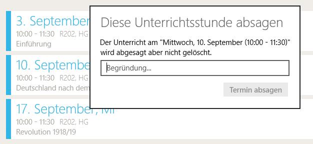 TecherStudio-Windows-Handbuch-Unterrichtsstunde-absagen