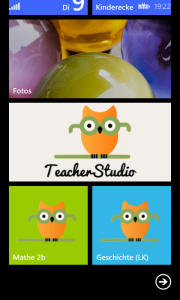 TeacherStudio-Windows-Phone-Pins