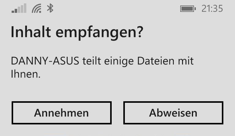 TeacherStudio-Windows-Phone-Datei-empfangen