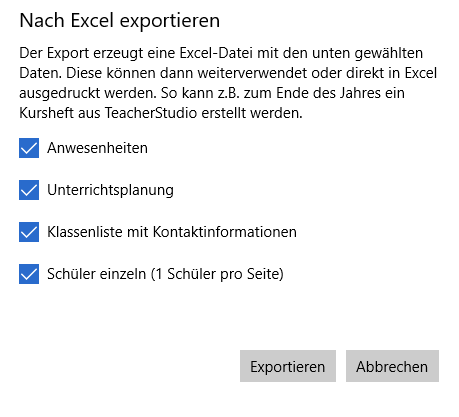 TeacherStudio-Excel-Export-Dialog