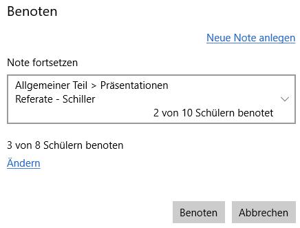 TeacherStudio-Windows-Benotung-über-mehrere-Stunden