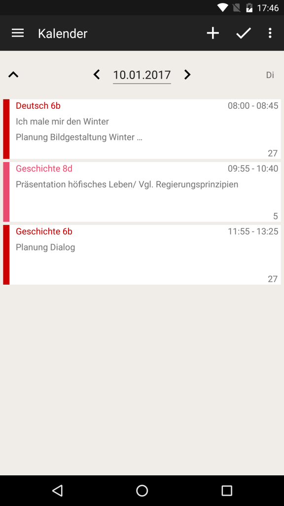 TeacherStudio-Android-Phone-Kalender-2